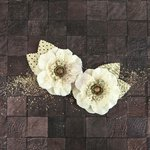 Prima - Capri Collection - Flower Embellishments - Sauvignon