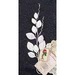 Prima - Providence Collection - Flower Embellishments - Basil
