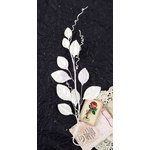 Prima - Providence Collection - Flower Embellishments - Oregano