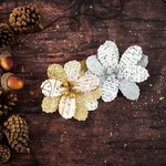 Prima - Bethleham Collection - Flower Embellishments - Yuletide