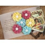 Prima - Cigar Box Secrets Collection - Flower Embellishments - Culebra