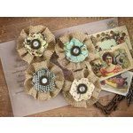 Prima - Cigar Box Secrets Collection - Flower Embellishments - Belicosa