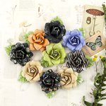 Prima - Forever Green Collection - Flower Embellishments - Succulent