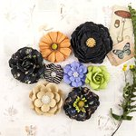 Prima - Forever Green Collection - Flower Embellishments - Grow