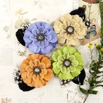 Prima - Forever Green Collection - Flower Embellishments - Sprout