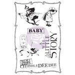 Prima - Bedtime Story Collection - Cling Mounted Stamps