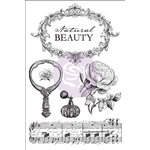 Prima - Bella Rouge Collection - Cling Mounted Stamps