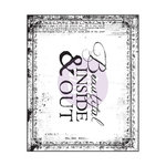 Prima - Bella Rouge Collection - Clear Acrylic Stamps - One
