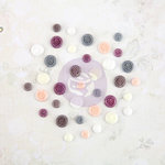 Prima - Butterfly Collection - Say It In Crystals - Self Adhesive Jewels