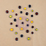 Prima - The Archivist Collection - Say It In Crystals - Self Adhesive Jewels