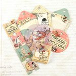 Prima - Bedtime Story Collection - Tag Me - Ticket and Tag Set