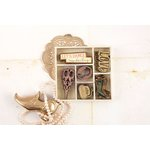 Prima - Debutante Collection - Wood Embellishments - Icons