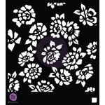 Prima - 6 x 6 Stencil - Wild Flowers