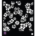 Prima - 6 x 6 Stencils - Poppies