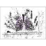 Prima - Cling Mounted Stamp - Botanical