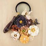Prima - The Archivist Collection - Flower Embellishments - Collector