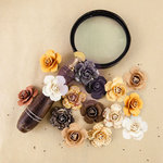 Prima - The Archivist Collection - Flower Embellishments - Fragments
