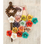 Prima - Bella Rouge Collection - Flower Embellishments - Leola