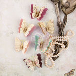 Prima - Butterfly Collection - Flower Embellishments - Imago