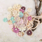 Prima - Butterfly Collection - Flower Embellishments - Chenille