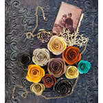 Prima - Timeless Memories Collection - Flower Embellishments - Flashback