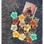 Prima - Timeless Memories Collection - Flower Embellishments - Reflection