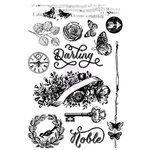 Prima - Royal Menagerie Collection - Cling Mounted Stamps