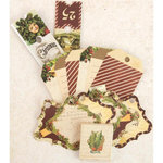 Prima - A Victorian Christmas Collection - Tag Me - Ticket and Tag Set