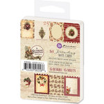 Prima - A Victorian Christmas Collection - 3 x 4 Journaling Note Cards