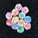 Prima - Watercolor Collection - Flower Embellishments - Florella
