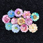 Prima - Watercolor Collection - Flower Embellishments - Aquarelle