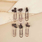 Prima - Decorative Paper Clips - Floral