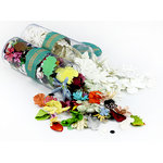 Prima - Wildflowers Pillar Pack Collection Kit - Botanical Flower Mix