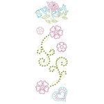 Prima - Say It In Crystals Collection - Self Adhesive Jewel Art - Bling - Flirty Little Secret