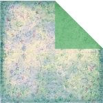 Prima - Indeed Collection - 12 x 12 Double Sided Paper - Rasberry Pastures