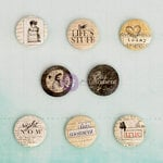 Prima - Everyday Vintage Collection - Flair Buttons - Two