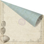 Prima - Seashore Collection - 12 x 12 Double Sided Paper - Shore Side
