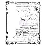 Prima - Time Travelers Memories Collection - Clear Acrylic Stamps - One