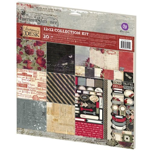 Prima - Stationers Desk Collection - 12 x 12 Collection Kit