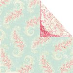 Prima - Shabby Chic Collection - 12 x 12 Double Sided Paper - Sweets