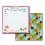 Prima - So Cute Collection - 12 x 12 Double Sided Paper - Hide and Seek