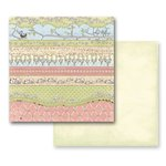Prima - Jack and Jill Collection - 12 x 12 Double Sided Paper - Green Fields