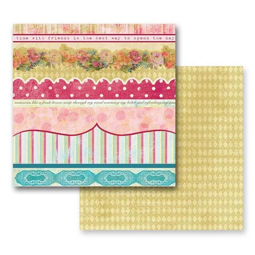 Prima - Annalee Collection - 12 x 12 Double Sided Paper - Parlor