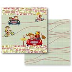 Prima - Road Trip Collection - 12 x 12 Double Sided Paper - Road Trip