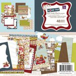 Prima - Road Trip Collection - 6 x 6 Paper Pad, CLEARANCE