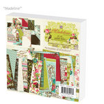 Prima - Madeline Collection - 6 x 6 Paper Pad