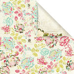 Prima - Madeline Collection - 12 x 12 Double Sided Paper - Parkway
