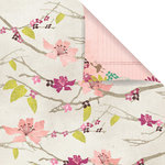 Prima - Melody Collection - 12 x 12 Double Sided Paper - Breeze