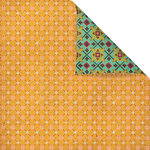 Prima - Melody Collection - 12 x 12 Double Sided Paper - Poppy
