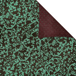 Prima - Melody Collection - 12 x 12 Double Sided Paper - Arabesque